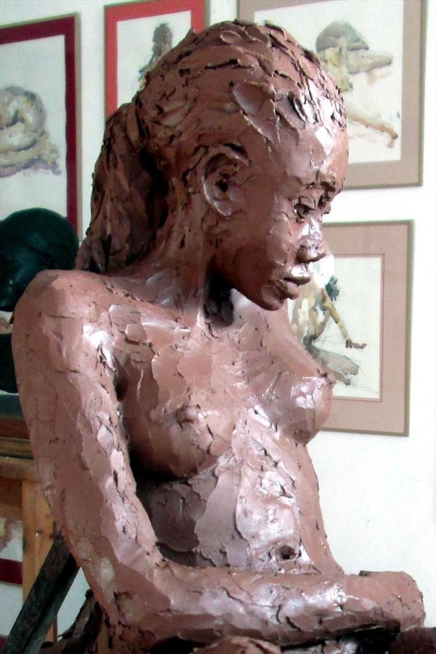 Verlena Artistic Nude Artwork by Artist Roger Burnett