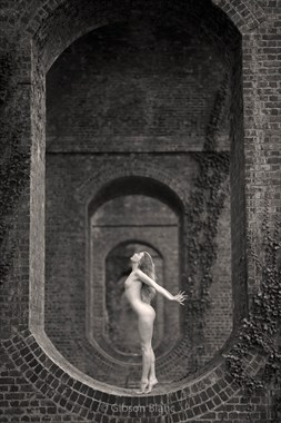 Viaduct with Lulu Artistic Nude Photo by Photographer Gibson
