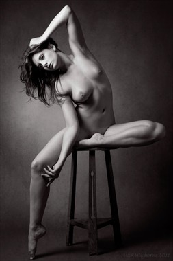 Victorian Ornamental Artistic Nude Photo by Photographer Mick Waghorne