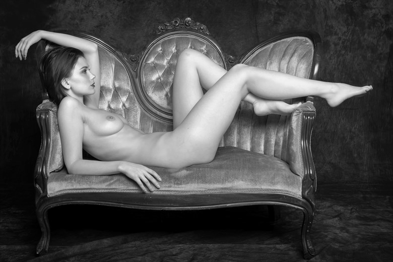 Victoriana Artistic Nude Photo by Photographer Philip Turner