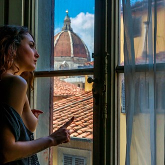 View from My Window No. 2 Artistic Nude Photo by Photographer Aspiring Imagery
