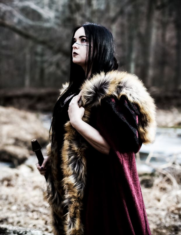 Viking Cosplay Photo by Photographer Katie Potter