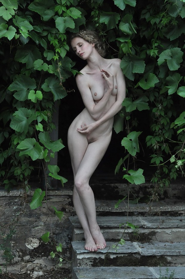 Vine Artistic Nude Photo by Photographer Karen Jones