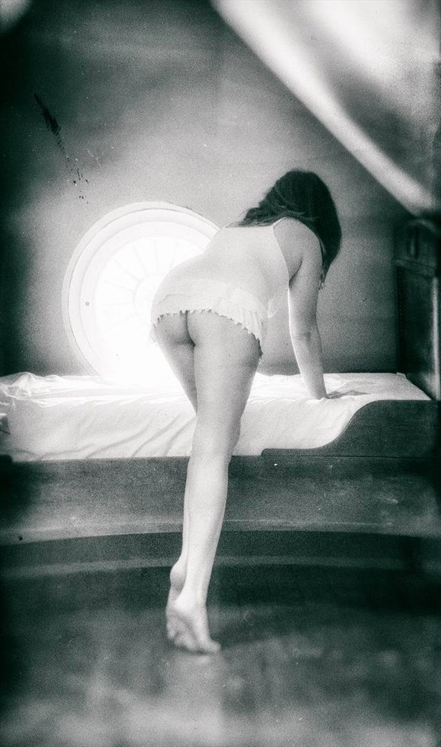 Vintage Artistic Nude Photo by Photographer BenGunn