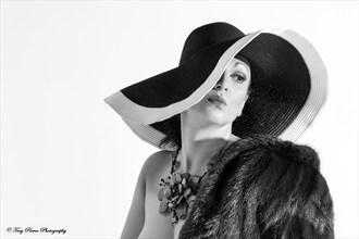Vintage Glamour Photo by Model NATTA