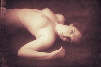 Vintage Nude Artistic Nude Photo by Artist David Bollt