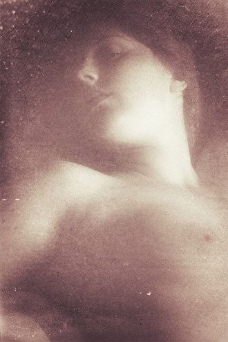 Vintage Nude Artistic Nude Photo by Artist David Bollt