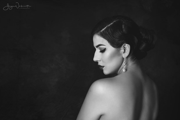 Vintage Portrait 2 Artistic Nude Photo by Photographer Photowerk
