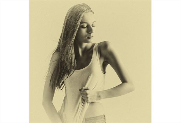 Vintage Style Alternative Model Photo by Photographer Todd McVey