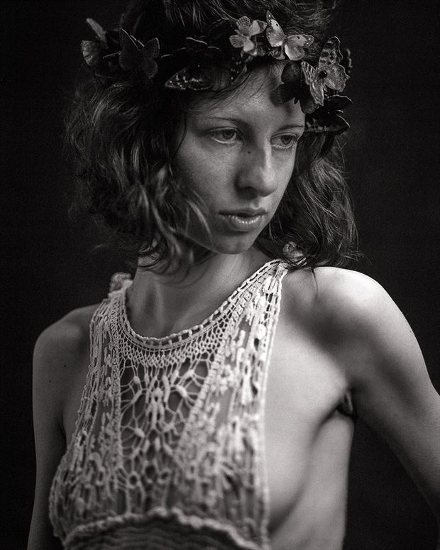 Vintage Style Fashion Photo by Model FAM