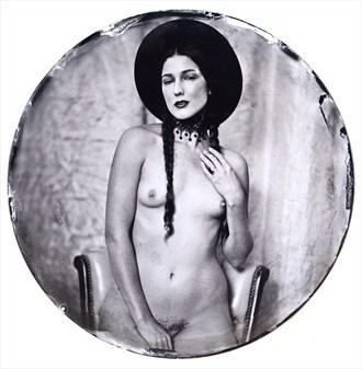 Vintage Style Figure Study Photo by Photographer Nalla Senrab