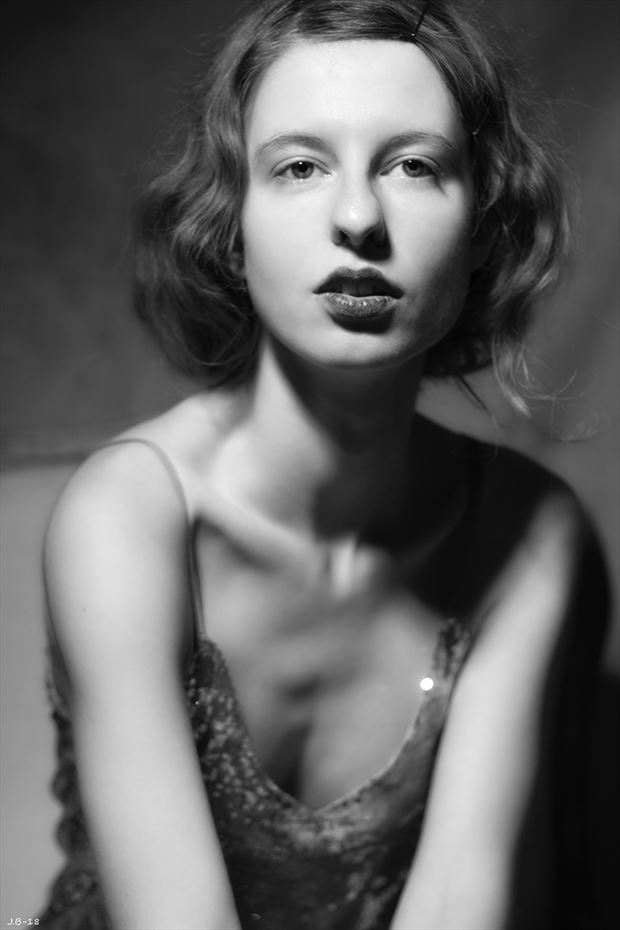 Vintage Style Glamour Photo by Model FAM