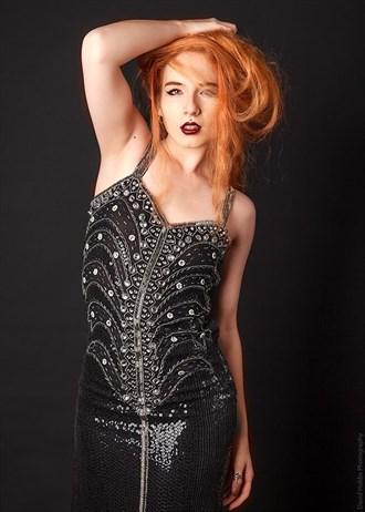 Vintage Style Glamour Photo by Model JenovaxLilith