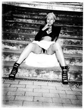 Vintage Style Photo by Model Aral Cheri