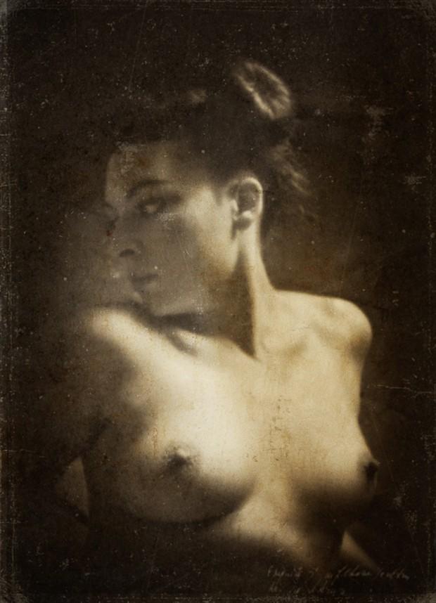 Vintage Style Photo by Model Mona Innominata
