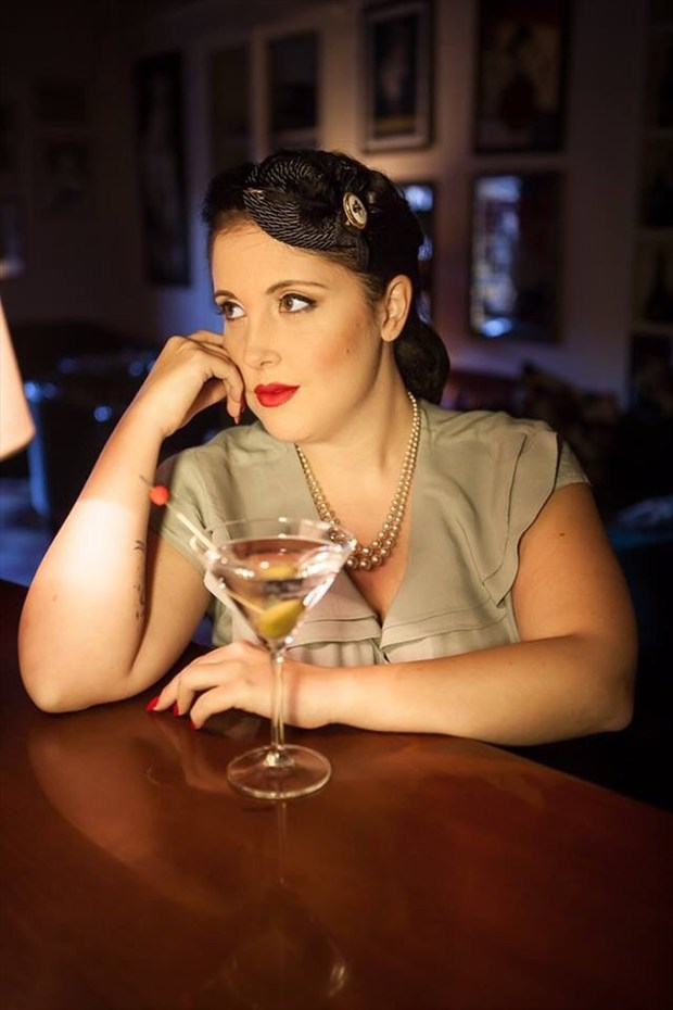 Vintage Style Pinup Photo by Model Pocket Girl