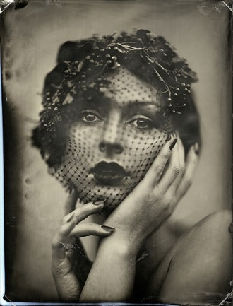 Vintage Style Portrait Photo by Model AnastasiaA