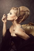 Vintage Style Sensual Artwork by Model Jessica de Virgilis