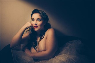Vintage Style Sensual Photo by Model Pocket Girl
