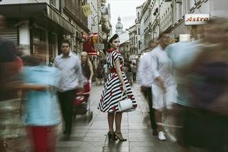 Vintage girl in a modern world Vintage Style Photo by Photographer Maja Topcagic