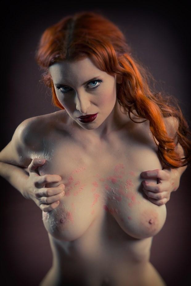 Vintage waxed Erotic Photo by Photographer Kaos