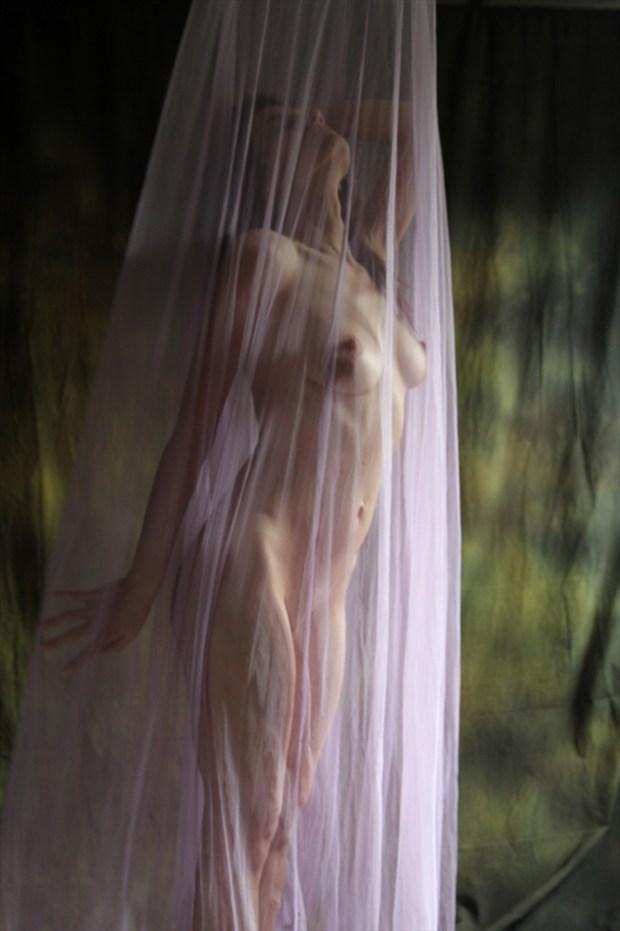 Violet Artistic Nude Artwork by Model Diana Revo