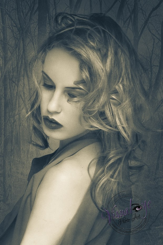 Vulnerable Vintage Style Photo by Photographer Bets Wilson