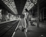 WALKING THE PET Artistic Nude Photo by Artist GonZaLo Villar