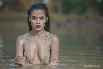 WATER BIRD Bikini Photo by Model RAAVISHREE AMBIGER
