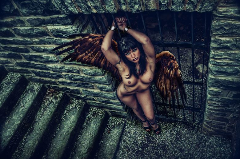 WILD THING Artistic Nude Artwork by Photographer KerryRayTracy