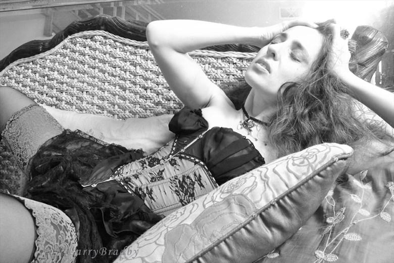 Waiting & Wanting Sensual Photo by Model Dinka Doll