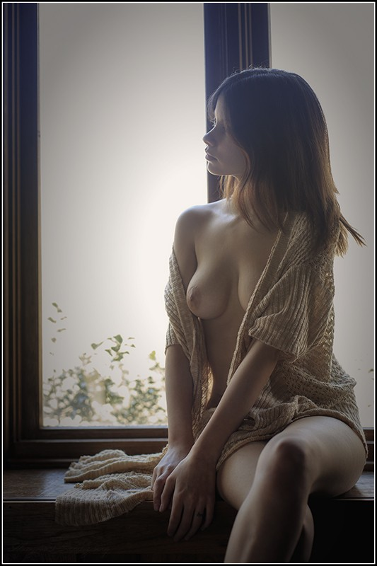 Waiting by the Window Artistic Nude Photo by Photographer Magicc Imagery