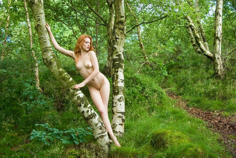 Waiting for a passer by Artistic Nude Photo by Photographer StevePl