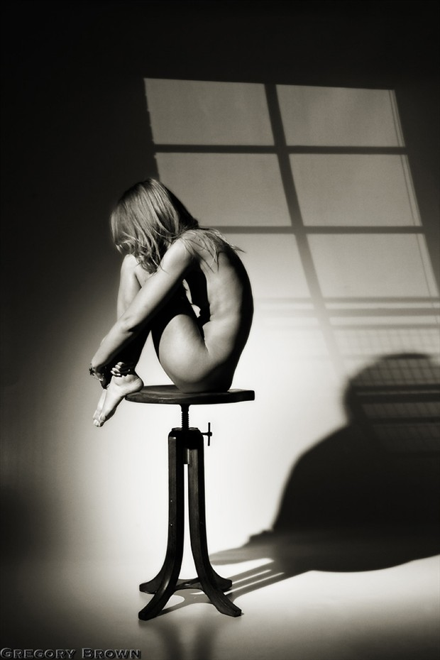 Waiting in anticipation Artistic Nude Photo by Photographer Gregory Brown