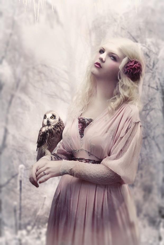 Walkin in a Winter Wonderland Photo Manipulation Artwork by Artist phatpuppyart