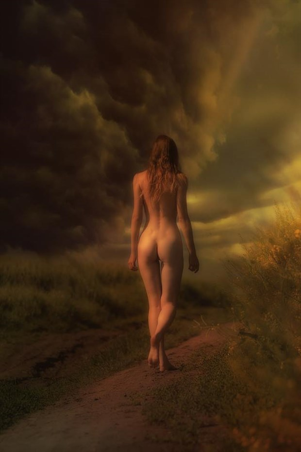 Walking on a dream Artistic Nude Photo by Model Florence