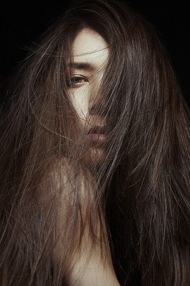 Walks in Beauty Abstract Photo by Model IDiivil