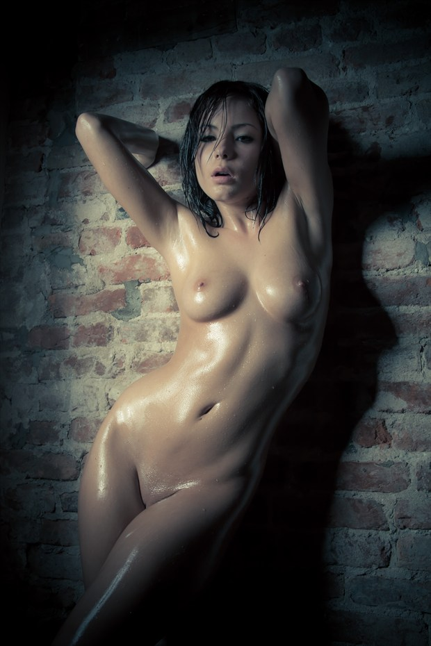 Wall Artistic Nude Photo by Model chloemodel21
