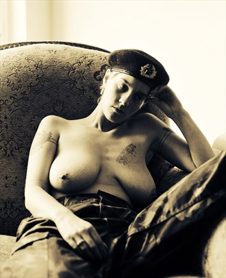 War Wounds Artistic Nude Photo by Photographer Jackkeg