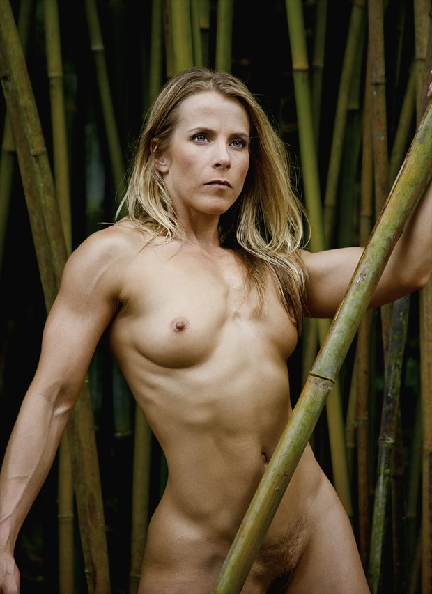 Warrior Goddess Artistic Nude Photo by Photographer Chris Gursky