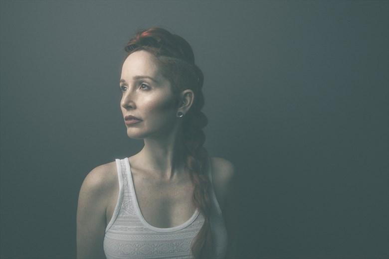 Warrior Portrait Photo by Model Nina Covington