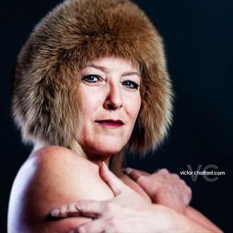 Warrior Queen Portrait Photo by Model BeatnikDiva