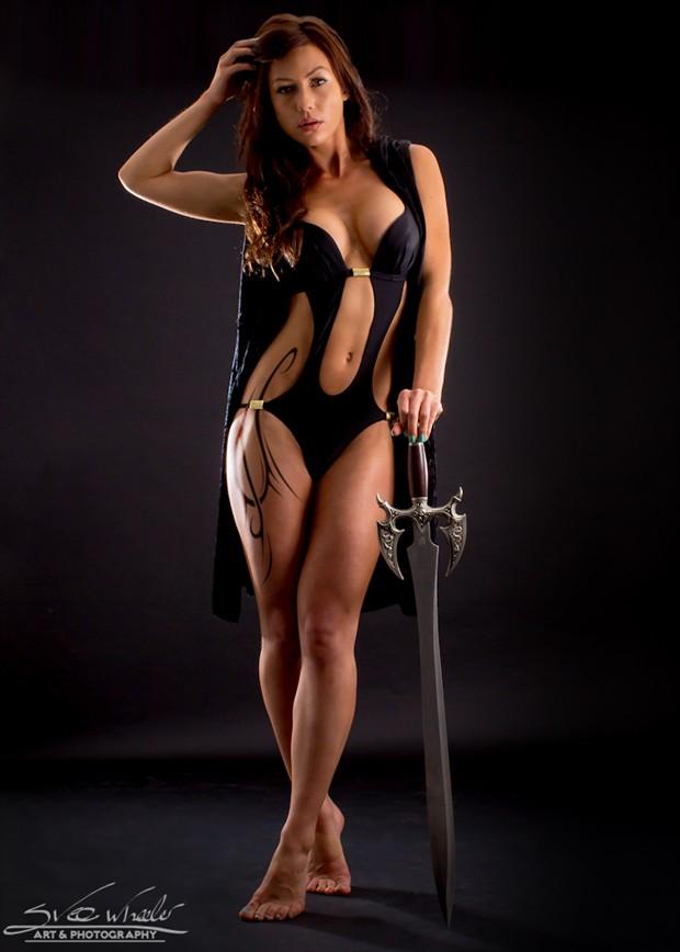 Warrior girl Cosplay Photo by Artist Svee