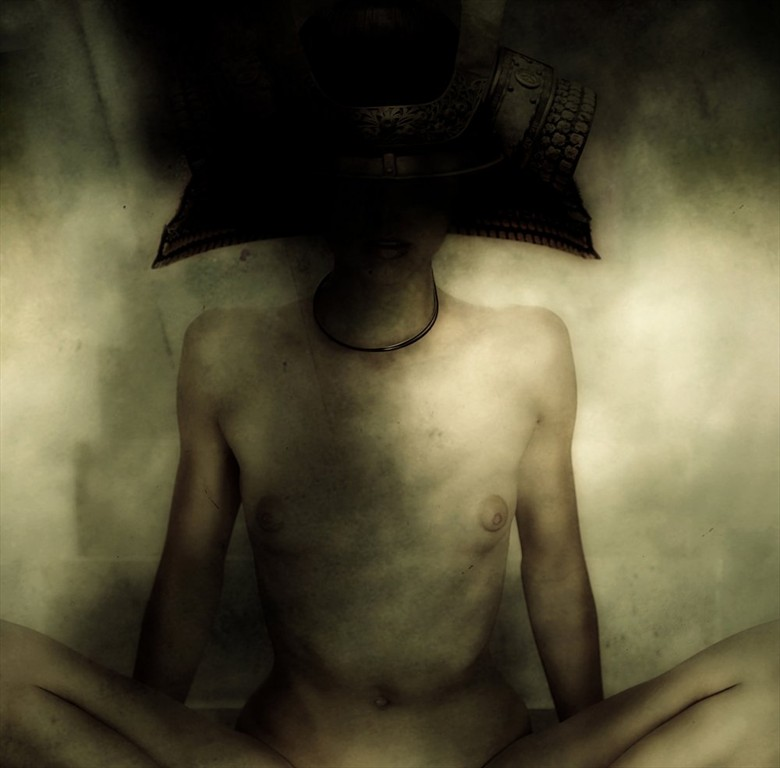 Warriors Do Not Ascend Artistic Nude Photo by Artist Daniele Deriu