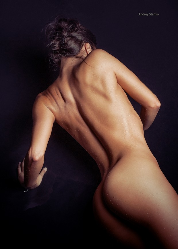 Water & Oil Artistic Nude Photo by Photographer Andrey Stanko