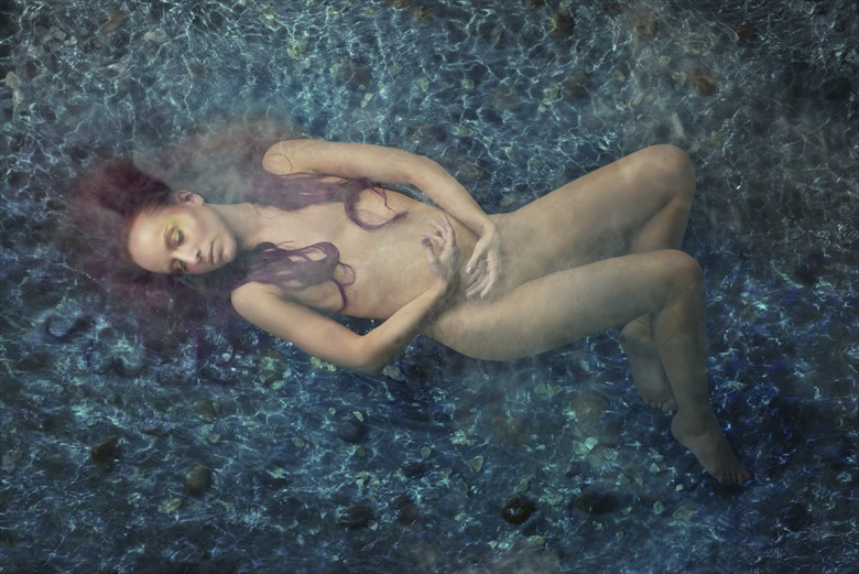 Water Artistic Nude Photo by Photographer Richard Flaskegaard