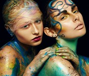 Water Babies Body Painting Photo by Model Romanie