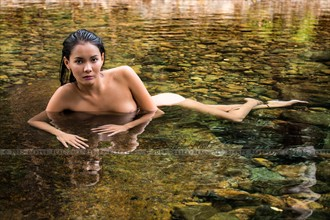 Water Baby Artistic Nude Photo by Photographer dexter