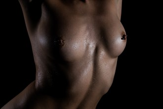 Water Dorps Artistic Nude Photo by Artist K. McClish Photo