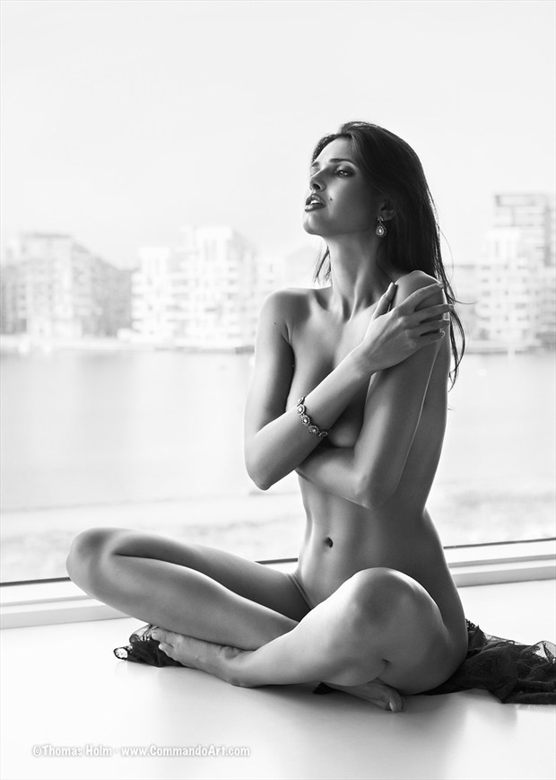 Waterfront Implied Nude Photo by Photographer CommandoArt